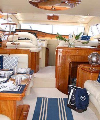 Conforto e vida a bordo